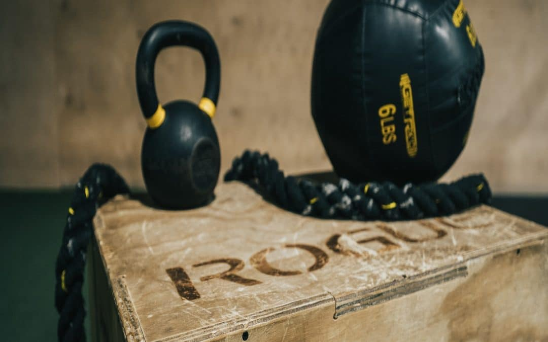 CrossFit equipment setup